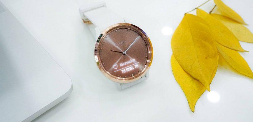 Smartwatch Samsung Galaxy Watch 42 mm Różowe złoto